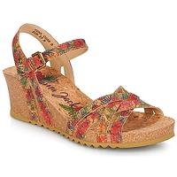 Schuhe Damen Sandalen / Sandaletten Panama Jack VERA Rot