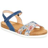 Schuhe Damen Sandalen / Sandaletten Think ZIFUDEKE Blau