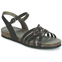 Schuhe Damen Sandalen / Sandaletten Think CLARA Schwarz