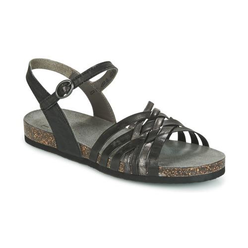 Think CLARA Schwarz Schuhe Sandalen / Sandaletten Damen 87,50