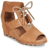 Schuhe Damen Sandalen / Sandaletten Sorel JOANIE™ LACE Braun