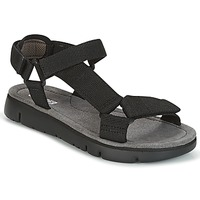 Schuhe Damen Sandalen / Sandaletten Camper ORUGA SANDAL Schwarz