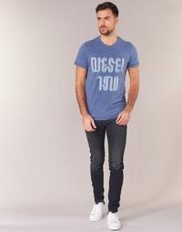 Kleidung Herren Röhrenjeans Diesel SLEENKER Blau