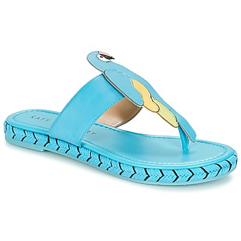 Schuhe Damen Zehensandalen Katy Perry THE YASUNI Blau