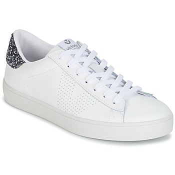 Schuhe Damen Sneaker Low Victoria DEPORTIVO PIEL Weiss