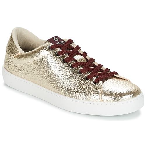 Victoria DEPORTIVO METALIZADO Gold  Schuhe Turnschuhe Low Damen