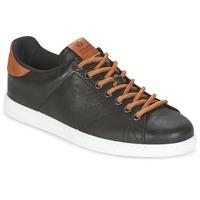 Schuhe Herren Sneaker Low Victoria DEPORTIVO PU CONTRASTE Schwarz