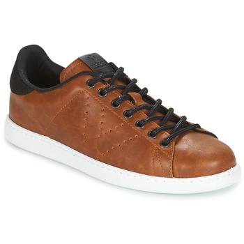 Schuhe Herren Sneaker Low Victoria DEPORTIVO PU CONTRASTE Braun