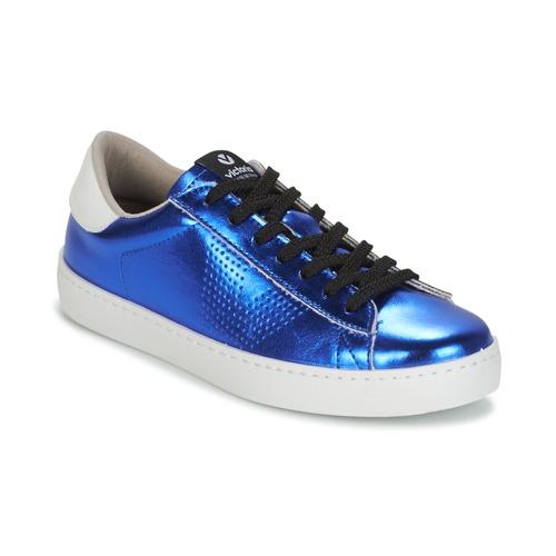 Victoria DEPORTIVO METALIZADO Blau  Schuhe Sneaker Low Damen 69
