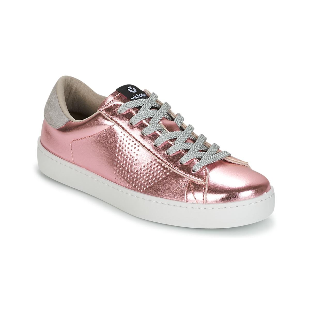 Victoria DEPORTIVO METALIZADO Rose - Kostenloser Versand bei Spartoode ! - Schuhe Sneaker Low Damen 27,60 €