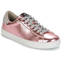 Schuhe Damen Sneaker Low Victoria DEPORTIVO METALIZADO Rose