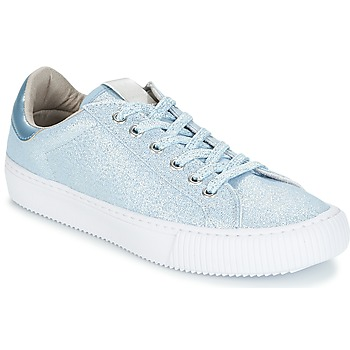Schuhe Damen Sneaker Low Victoria DEPORTIVO LUREX Blau