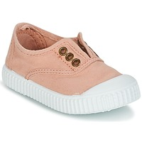 Schuhe Mädchen Sneaker Low Victoria INGLESA LONA TINTADA Rose