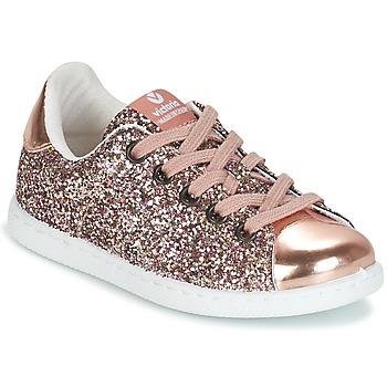 Schuhe Mädchen Sneaker Low Victoria DEPORTIVO GLITTER KID Rose