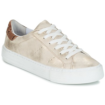 Schuhe Damen Sneaker Low No Name ARCADE GLOW Beige