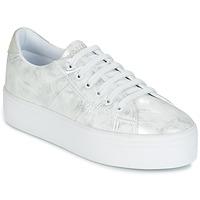 Schuhe Damen Sneaker Low No Name PLATO SNEAKER Silbern