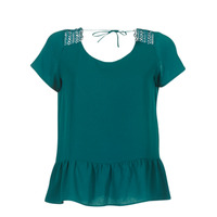 Kleidung Damen Tops / Blusen Betty London INOTTE Grün