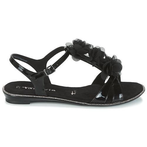 Tamaris GACAPI Schwarz Schuhe Sandalen 40 / Sandaletten Damen 40 Sandalen 602308