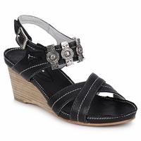Schuhe Damen Sandalen / Sandaletten Regard REDAPI Schwarz