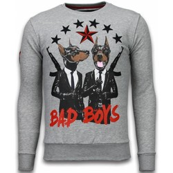 Kleidung Herren Sweatshirts Local Fanatic Bad Boys Strass Grau
