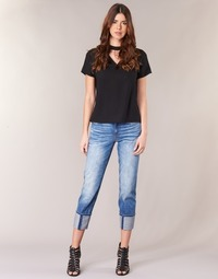 Kleidung Damen 3/4 & 7/8 Jeans G-Star Raw LANC 3D HIGH STRAIGHT Blau