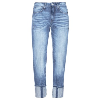 Kleidung Damen 3/4 & 7/8 Jeans G-Star Raw LANC 3D HIGH STRAIGHT Blau