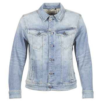 Kleidung Damen Jeansjacken G-Star Raw 3301 N BOYFRIEND DENIM JACKET Blau