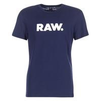 Kleidung Herren T-Shirts G-Star Raw HOLORN R T S/S Marine