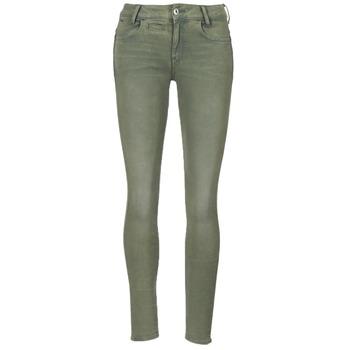 Kleidung Damen 5-Pocket-Hosen G-Star Raw D-STAQ 5-PKT MID SKINNY COJ WMN Grün