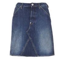 Kleidung Damen Röcke G-Star Raw 5622 CUSTOM A-LINE SKIRT Blau
