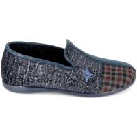 Schuhe Herren Hausschuhe Boissy Pantoufle JH56257 Marine Blau