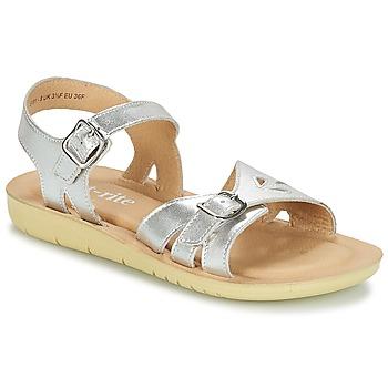 Schuhe Mädchen Sandalen / Sandaletten Start Rite SR SOFT HARPER Silbern
