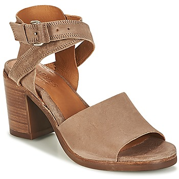 Schuhe Damen Sandalen / Sandaletten Shabbies SHS0180 HIGH REVERSED Maulwurf