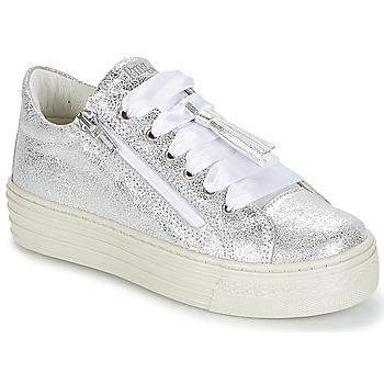 Schuhe Mädchen Sneaker Low Primigi RAPATITE Silbern