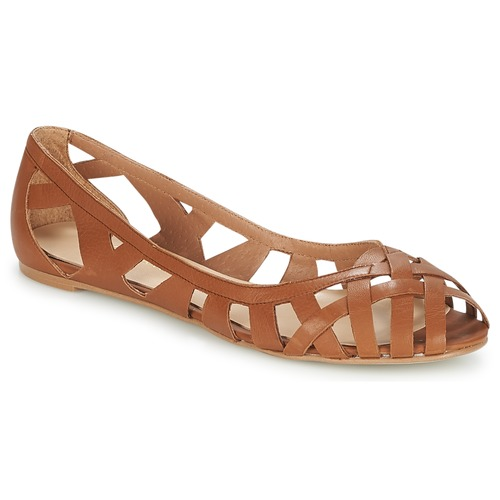 Schuhe Damen Sandalen / Sandaletten Jonak DERAY Cognac