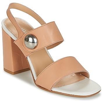Schuhe Damen Sandalen / Sandaletten Jonak DERIKA Beige