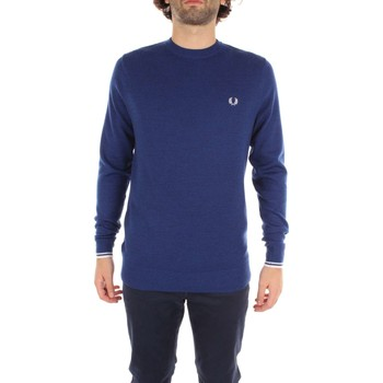 Kleidung Herren Pullover Fred Perry K2000 Pullover & Sweatshirts Mann blue Royal blue Royal