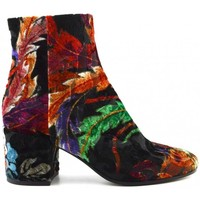 Schuhe Damen Low Boots Strategia A3290-T davore dragon Multicolor