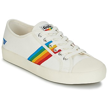 Schuhe Damen Sneaker Low Gola COASTER RAINBOW Weiss