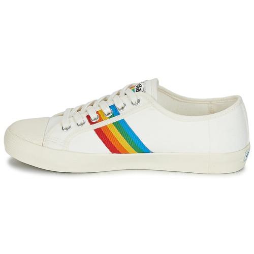 Gola COASTER RAINBOW Weiss 58,50  Schuhe Sneaker Niedrig Damen 58,50 Weiss 23a135