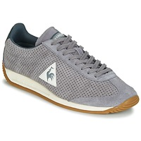 Schuhe Herren Sneaker Low Le Coq Sportif QUARTZ PERFORATED NUBUCK Grau