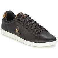 Schuhe Herren Sneaker Low Le Coq Sportif COURTCRAFT S LEA Schwarz