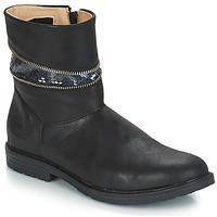Schuhe Mädchen Klassische Stiefel GBB MAFALDA Schwarz / Dpf / Emma