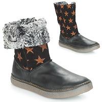 Schuhe Mädchen Klassische Stiefel Achile DUBROVNIK Schwarz / Kupfer