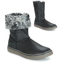 Schuhe Mädchen Klassische Stiefel GBB DUBROVNIK Nub / Schwarz / Dpf / Glen