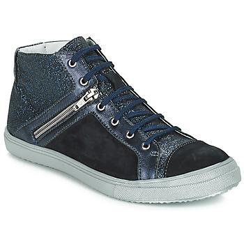 Schuhe Mädchen Klassische Stiefel GBB KAMI Marine / Dpf / Sneaker