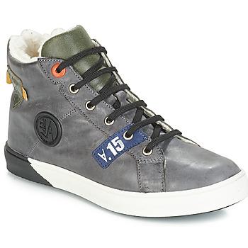Schuhe Jungen Klassische Stiefel GBB SILVIO Nuv / Blaukariert / violett / Dch / Evoque