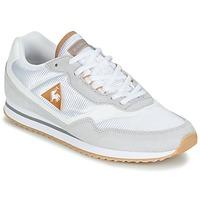 Schuhe Damen Sneaker Low Le Coq Sportif LOUISET SUEDE/NYLON Grau / Weiss