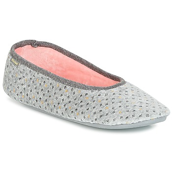 Schuhe Damen Hausschuhe DIM D BASIA Grau