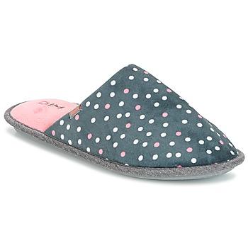 Schuhe Damen Hausschuhe DIM D BECKY Schwarz